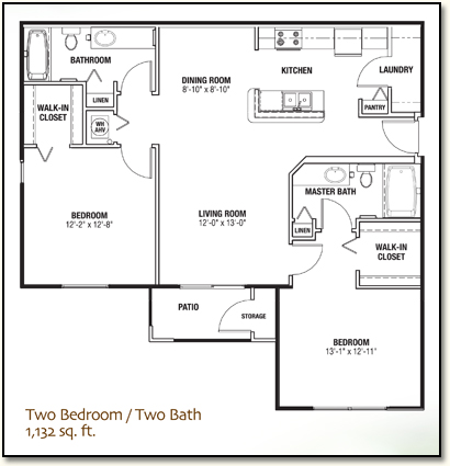 Apartments in Lady Lake, Florida with Two Bedrooms