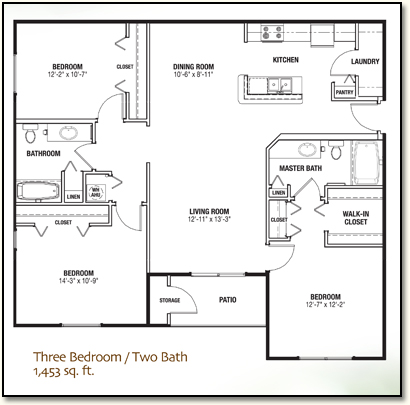 Three Bedroom Apartment In Lady Lake, Florida